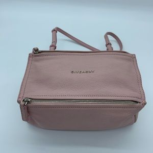 Authentic Givenchy pinksugar goatskin mini Pandora